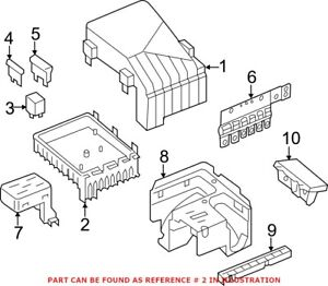 Genuine OEM Fuse and Relay Center for Volkswagen