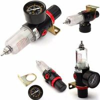 Airbrush Compressor AIR PRESSURE REGULATOR Gauge Water ...