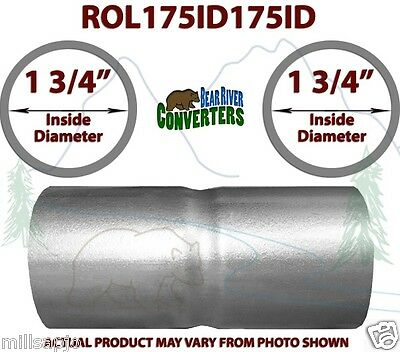 1 75 id to 1 3 4 id universal exhaust pipe coupling connector adapter coupler ebay