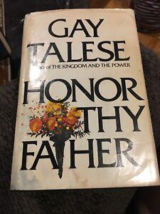 1971 Gay Talese : talese, Honor, Father, Talese, Print, Bonanno, Mafia, Crime