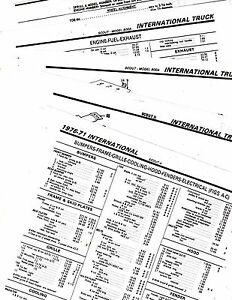 1971 1972 1973 1974 1975 INTERNATIONAL SCOUT 80 800A II