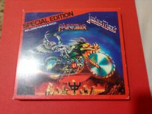 details about judas priest painkiller special edition cd includes poster and patch show original title