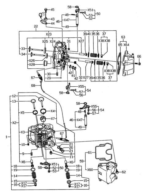 Savers Countax Yanmar D50ln D1850 JCB 2050 Diesel Glow