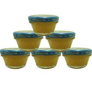 6 x 100 g ( 1 kg /74.83€) Kaviar aus Hechtrogen Hechtkaviar Hecht kaviar caviar | eBay
