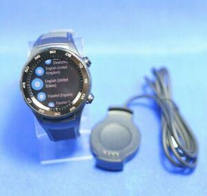 Huawei Watch 2 Sport Smartwatch - Ceramic Bezel - Carbon Black Strap