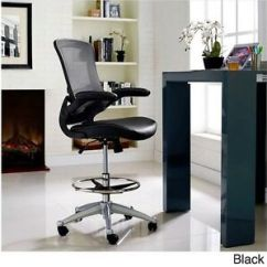 Counter Height Computer Chair Covers Ipswich Drafting Table Adjustable Ergonomic Stool Image Is Loading