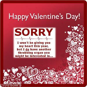 Funny Valentines Gift Card Insert Refrigerator Tool Box