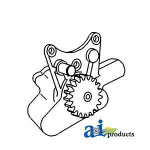 John Deere Parts REPAIR KIT OIL PUMP MX1062 892LC (SN 6