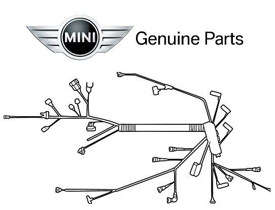 For Mini Cooper S 2002-2008 1.6L Engine Wiring Harness