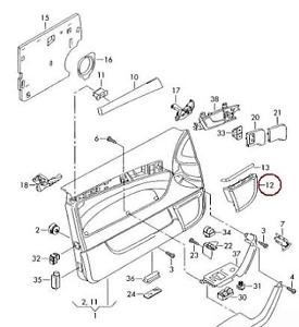 Audi A3 Body Parts Diagram