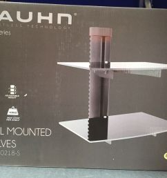 bauhn wall mounted console dvd shelves black series effortless home theatre shelf bauhn diagram [ 1600 x 1206 Pixel ]