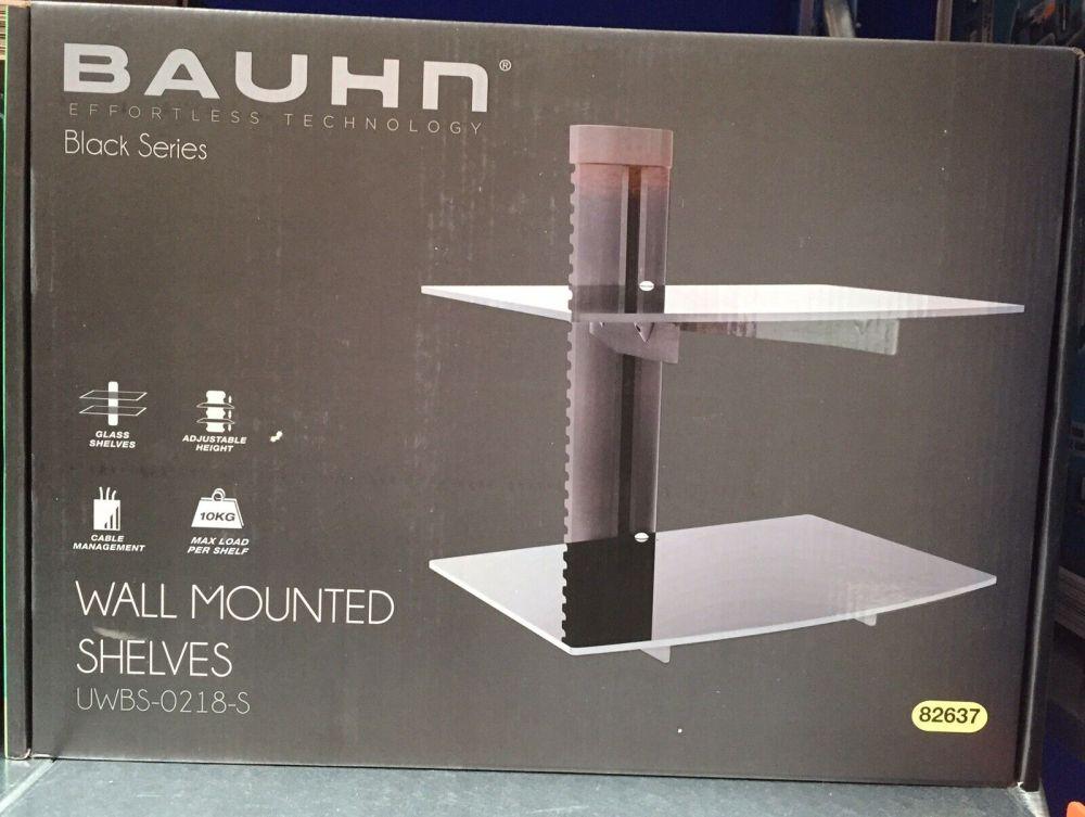 medium resolution of bauhn wall mounted console dvd shelves black series effortless home theatre shelf bauhn diagram