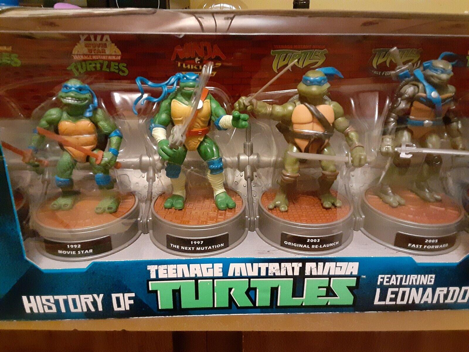 History Of Teenage Mutant Ninja Turtles Featuring Leonardo 1984 To 2014 For Sale Online Ebay