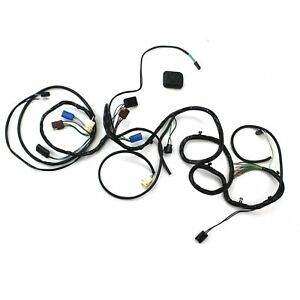 Mustang Head Light Wiring Harness w/ Sport Lamps Early