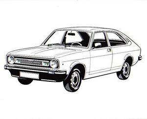Morris Marina original black & white Line Drawing Press