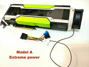 GPU Cooler with High-speed Fan for Nvidia Tesla K80 P100 V100 Passive Cooling   eBay