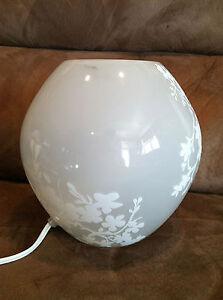 IKEA Round Unique Design Elegant Table-Top Lamp | Desk Lamp for...