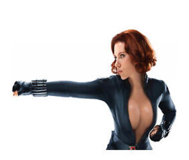 Sexy Scarlett Johansson Marvel Black Widow Photo Poster Canvas