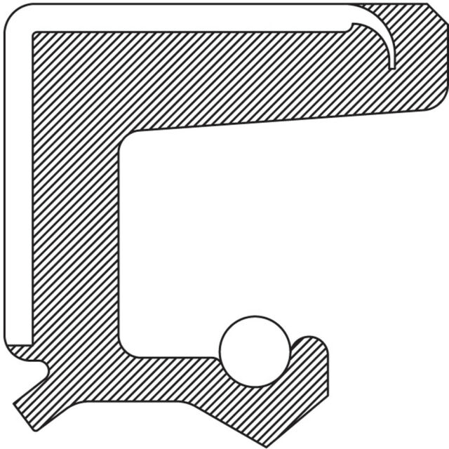 Manual Trans Main Shaft Seal fits 1985-1989 Merkur XR4Ti