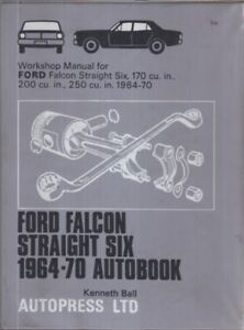 FORD FALCON STRAIGHT SIX 170 200 250 ci (1964-70) OWNERS
