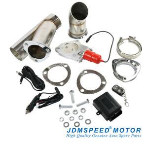 details about jdmspeed 3 electric exhaust muffler valve cutout system dump wireless remote
