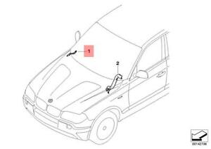Genuine BMW Wiring Duct Bonnet Hinge M3 X3 E46 E83 316Ci