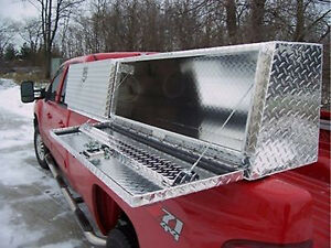 Truck Tool Box 96quot Topsider Slant Front High Side Top