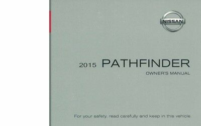2015 Nissan Pathfinder Owners Manual User Guide Reference