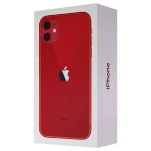 RETAIL BOX - Apple iPhone 11 - 128GB / Red - NO DEVICE 481446948758   eBay