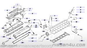 Nissan 01131-00381 Rocker Cover Bolt RB26DETT R33 R34