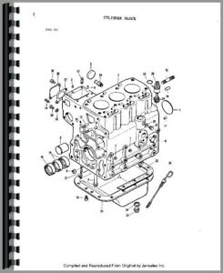 Parts Manual Massey Ferguson 1010 Diesel Compact Tractor