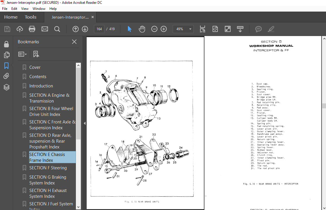 hight resolution of jensen interceptor ff mk 2 3 1969 1976 workshop manual wiring diagrams ebay