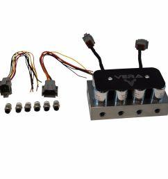 details about vera 8 valve air suspension solenoid block va pbk814 [ 1000 x 1000 Pixel ]