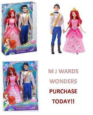 disney princesses disney princess day out ariel eric 2 pack ebay
