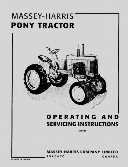 Massey Ferguson Shop Service Manuals, MF35 MF135, MF150