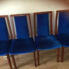 Velvet Dining Chairs Australia Vintage Kitchen Table And Rosewood Blue Gumtree