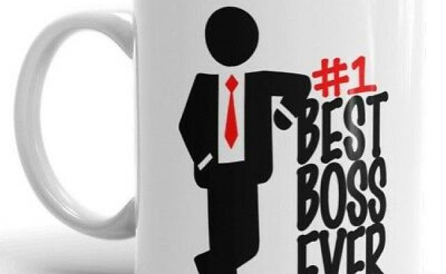 Best Boss Ever Coffee Mug 1 Boss Gift For Manager Funny