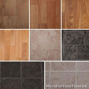 kitchen vinyl flooring over sink light quality anti slip roll lino cushion 4m cheap image is loading