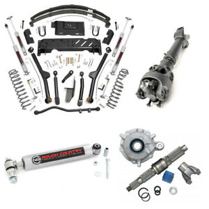 Rough Country 4.5 In COMPLETE Long Arm Lift Kit w/SYE for