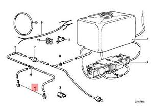 Genuine BMW E12 E3 E9 Coupe Saloon Head Lamp Spray