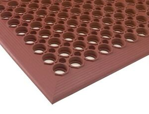 Red Indoor Commercial Industrial HeavyDuty AntiFatigue Floor Mat 36 x 60  eBay