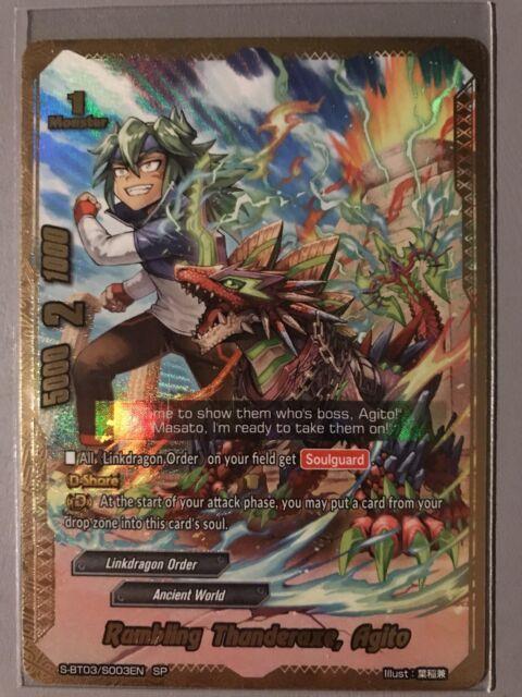 FUTURE CARD BUDDYFIGHT RUMBLING THUNDERAXE AGITO S-BT03/S003EN SP | eBay