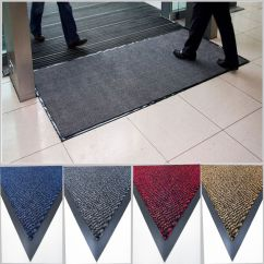 Heavy Duty Office Chair Mat For Carpet Iron Throne Large Door Entrance Rubber Barrier Back Non