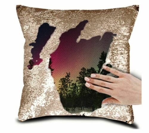 huis 8 colors free ship cover custom photo sequin pillow case print your own photo luxclusif com