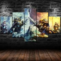 World of Warcraft Legion Wall Art Prints Canvas 5 Piece ...