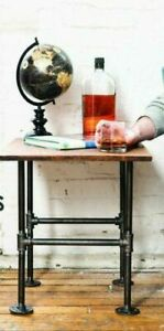Dettagli Su Fai Da Te Tubo Industriale Gamba Tavolo Decor Set Rustico Fine Tabella Side Table Base Kit Mostra Il Titolo Originale