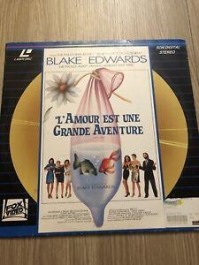 L'amour Est Une Grande Aventure : l'amour, grande, aventure, L'AMOUR, GRANDE, AVENTURE, BLAKE, EDWARDS, LASERDISC, LASER, FRANÇAIS