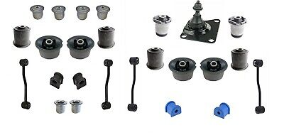 FRONT + REAR SUSPENSION BUSHING REPAIR KIT FOR JEEP GRAND