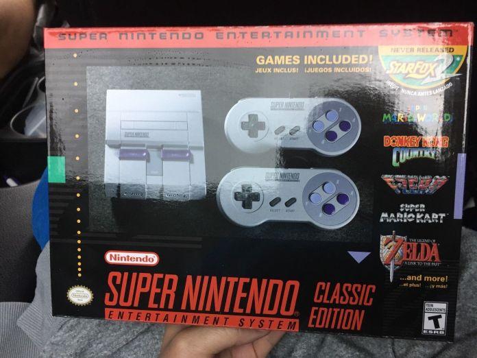 Nintendo Super NES Classic Edition - Evanino com
