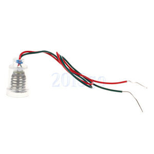1PC E10 Screw light Lamp Bulb Holder Socket With Wire For